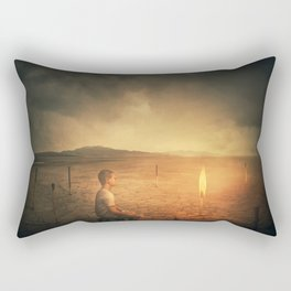 The Last Hope Rectangular Pillow