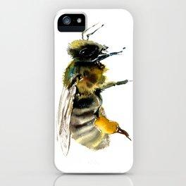 Bee, bee design honey bee, honey making iPhone Case