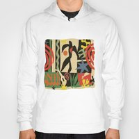matisse Hoodies featuring Inspired to Matisse vintage t-shirt by Chicca Besso