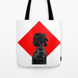 When galaxies collide [part 2] Tote Bag
