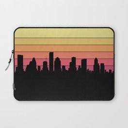 Houston Skyline Laptop Sleeve