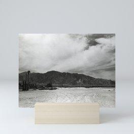 Obsidian Mountains of California Mini Art Print