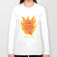 diablo Long Sleeve T-shirts featuring El Diablo VFX  by El Diablo VFX
