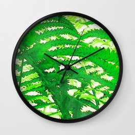 249 - Ferns Wall Clock