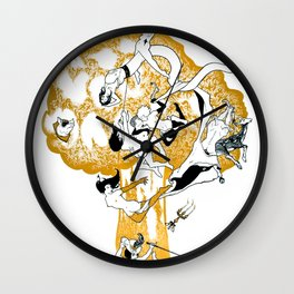 The Conqueror Wurm Wall Clock