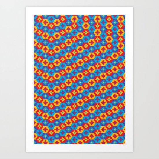 Pattern 0007 Art Print