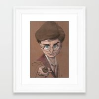 harry Framed Art Prints featuring Harry! by nachodraws