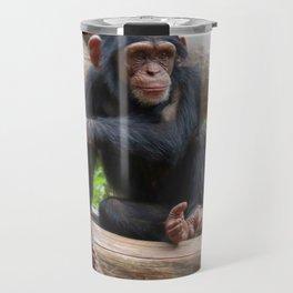 Chimpanzee_20150503_by_JAMFoto Travel Mug