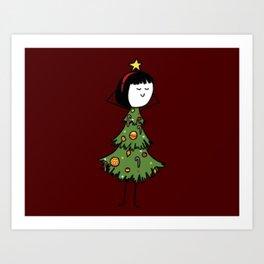 A POTSie Christmas Art Print