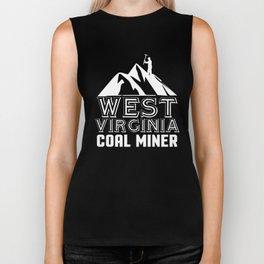 West Virginia Coal Miner, West Virginia Coal Mining Biker Tank