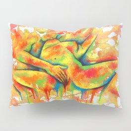 Colorful Climax Pillow Sham