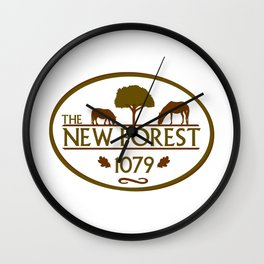 New Forest 1079 Wall Clock