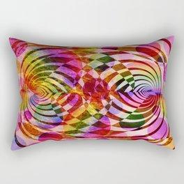 residual heat of our universe Rectangular Pillow