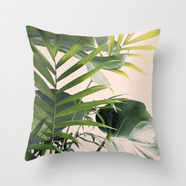 Tropical Mix Throw Pillow