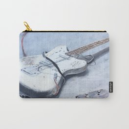 rock n roll guitar Carry-All Pouch