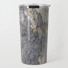 brown sycamore bark Travel Mug