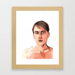 Pre-serum Steve Rogers Framed Art Print