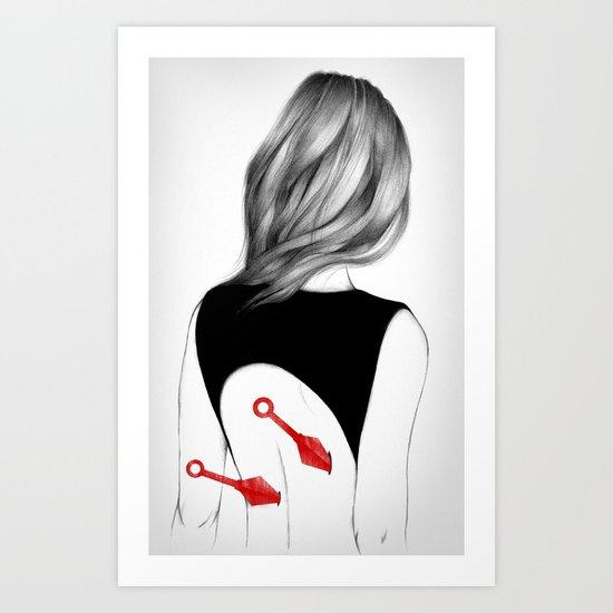 Back Stabbers II Art Print