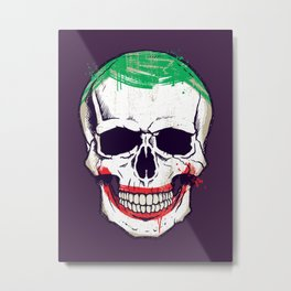 Joke's On You, Death! Metal Print
