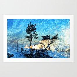 SHINING II Art Print