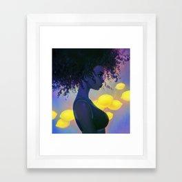 sour Framed Art Print