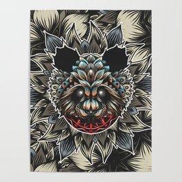 Panda Color Poster
