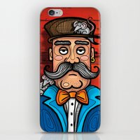 moustache iPhone & iPod Skins featuring Moustache by Manouk van Eesteren