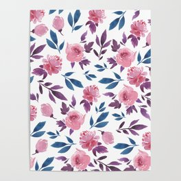 Floral Madness Poster