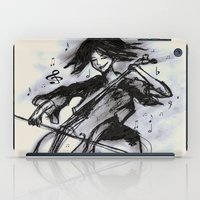 cello iPad Cases featuring Cello Song by sladja