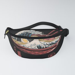 Great Ramen Wave Fanny Pack