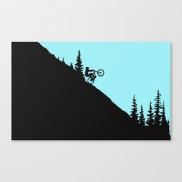 MTB Downhill Canvas Print