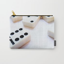 Dominoes Pattern #6 Carry-All Pouch