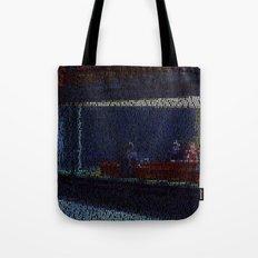 Tom's Diner (Edward Hopper/Suzanne Vega mash up) Tote Bag