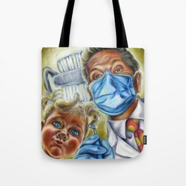 Toughest Supporter Tote Bag