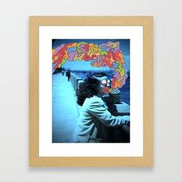 Hey Lilly. Framed Art Print