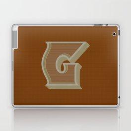 BOLD 'G' DROPCAP Laptop & iPad Skin
