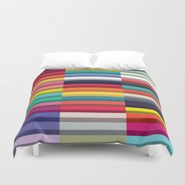 Accordion Fold Series Style J Patchwork Duvet Cover