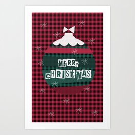 Merry Christmas 2018-9 Art Print