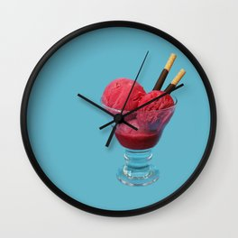Coupe-faim // Appetite-suppressant Wall Clock