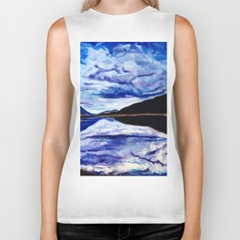 Road Trip Blues Biker Tank