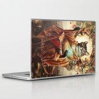 discount Laptop & iPad Skins featuring Jizo Bodhissatva by Christina Hess