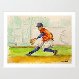 Carlos Correa - Astros Shortstop Art Print