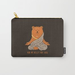 Buddha Bear Carry-All Pouch