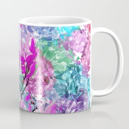 Floral abstract (81) Coffee Mug