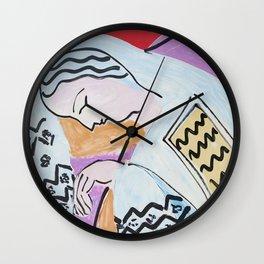 Henri Matisse - The Dream - 1940 Artwork Wall Clock