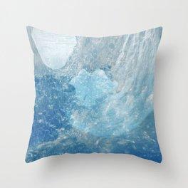 Drowning Siren Throw Pillow