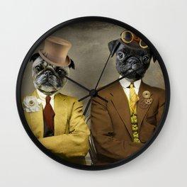 Steampug Wall Clock