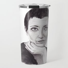 Helene Cixous Travel Mug