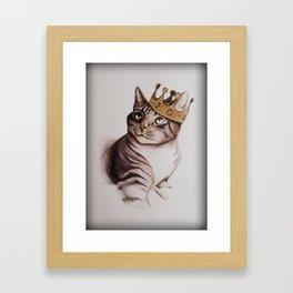 King Clyde Framed Art Print