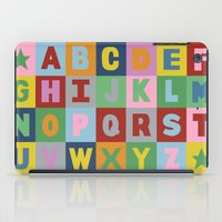 alphabet iPad Cases featuring Alphabet by Project M